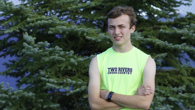 Two Rivers senior cross country runner Jared Krahn is this week's Prep Profile.