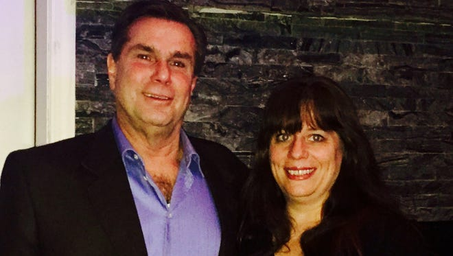 Steve Castronova and Tricia Gerst, as seen on Jan. 31, are the local republican nominees for the June 6 town council primary.
