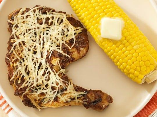Peruvian Parmesan Chicken
