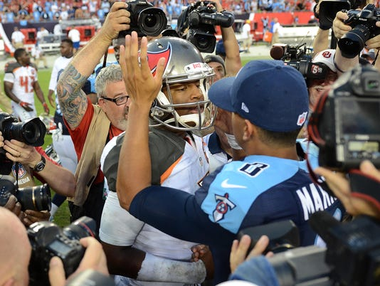 NFL: Tennessee Titans at Tampa Bay Buccaneers