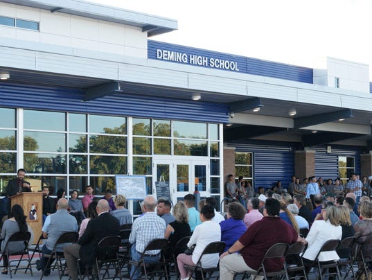 Deming High School Ribbon-Cutting