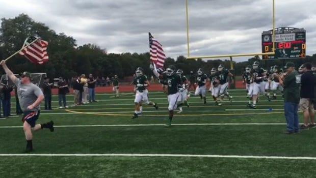 St. Joseph football team takes the field Saturday