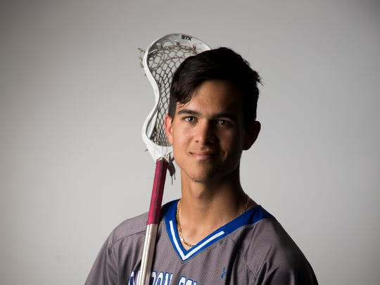 Barron Collier senior lacrosse player Bryce Cousins.