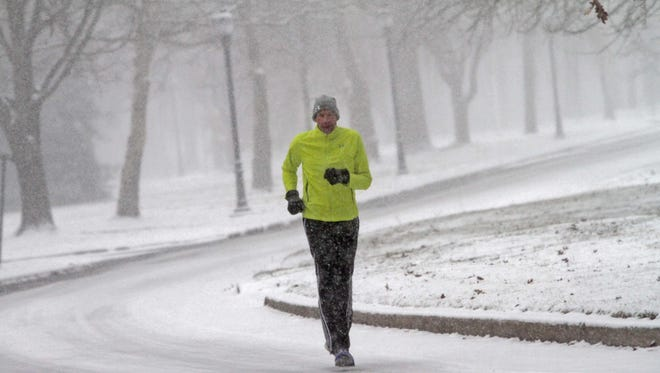 Don't let snow keep you from your daily run.