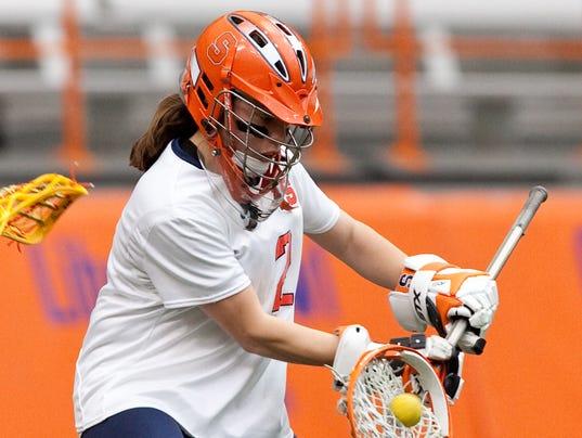 Liz Hogan, Victor graduate and Syracuse University women's lacrosse goalie