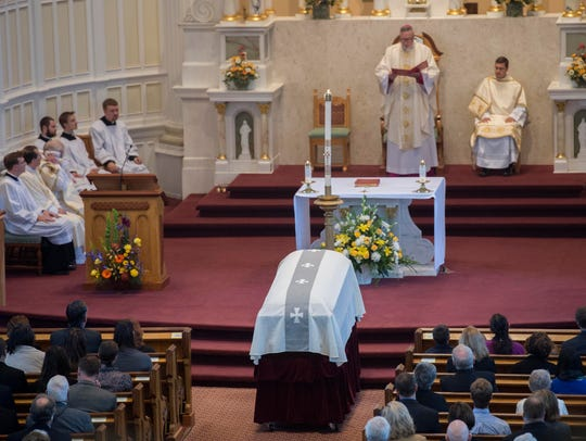 Funeral services for Bishop Emeritus Kenneth Angell