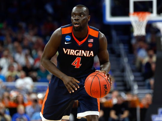 Virginia transfer Marial Shayok will be eligible to