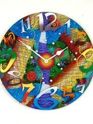 A clock by David Scherer