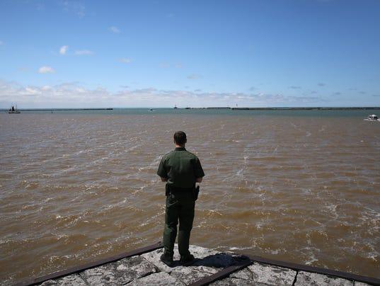U.S. Customs and Border Protection Monitors Canadian-American Border By Land, Air And River Patrols