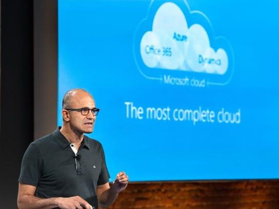 Msft Cloud Satya