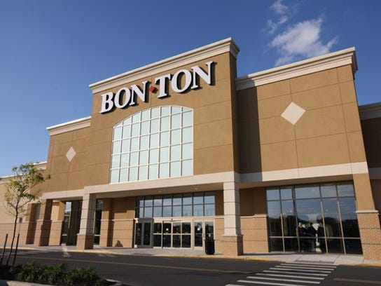 The exterior of a Bon-Ton department store