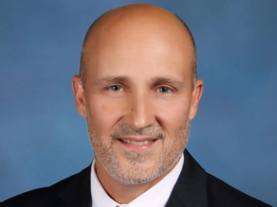 Lee County schools superintendent Greg Adkins