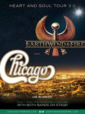 Chicago and Earth, Wind and Fire