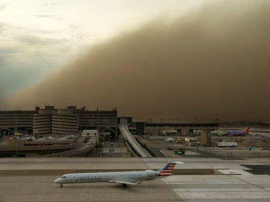 dust storm phoenix