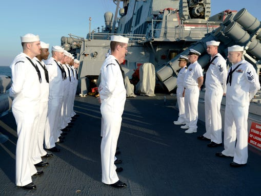 Enlisted dress whites are also being overhauled to look more like the ...