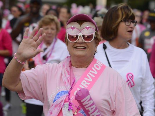 Making Strides Against Breast Cancer Walk 1