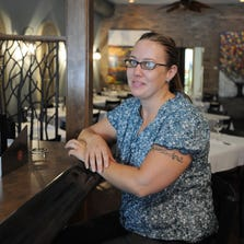 Karen Hewett, owner of Indigo Duck restaurant in Franklin carries on with the business after the death of her husband Joseph Hewett earilier this year. Here is the restaurant Thursday August 22, 2013. Rob Goebel/The Star.