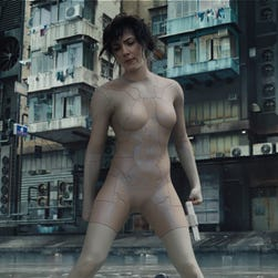 Will whitewashing anger haunt live-action 'Ghost in the Shell'?