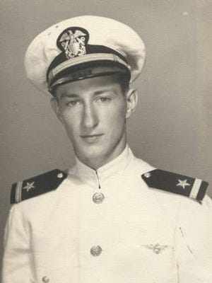 Ralph Hall, U.S. Congressman, served in the U.S. Navy during World War II