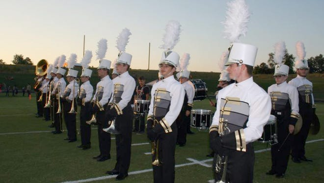 Marching bands from all across Williamson County will perform at Brentwood High School Saturday, September 17, 2017.