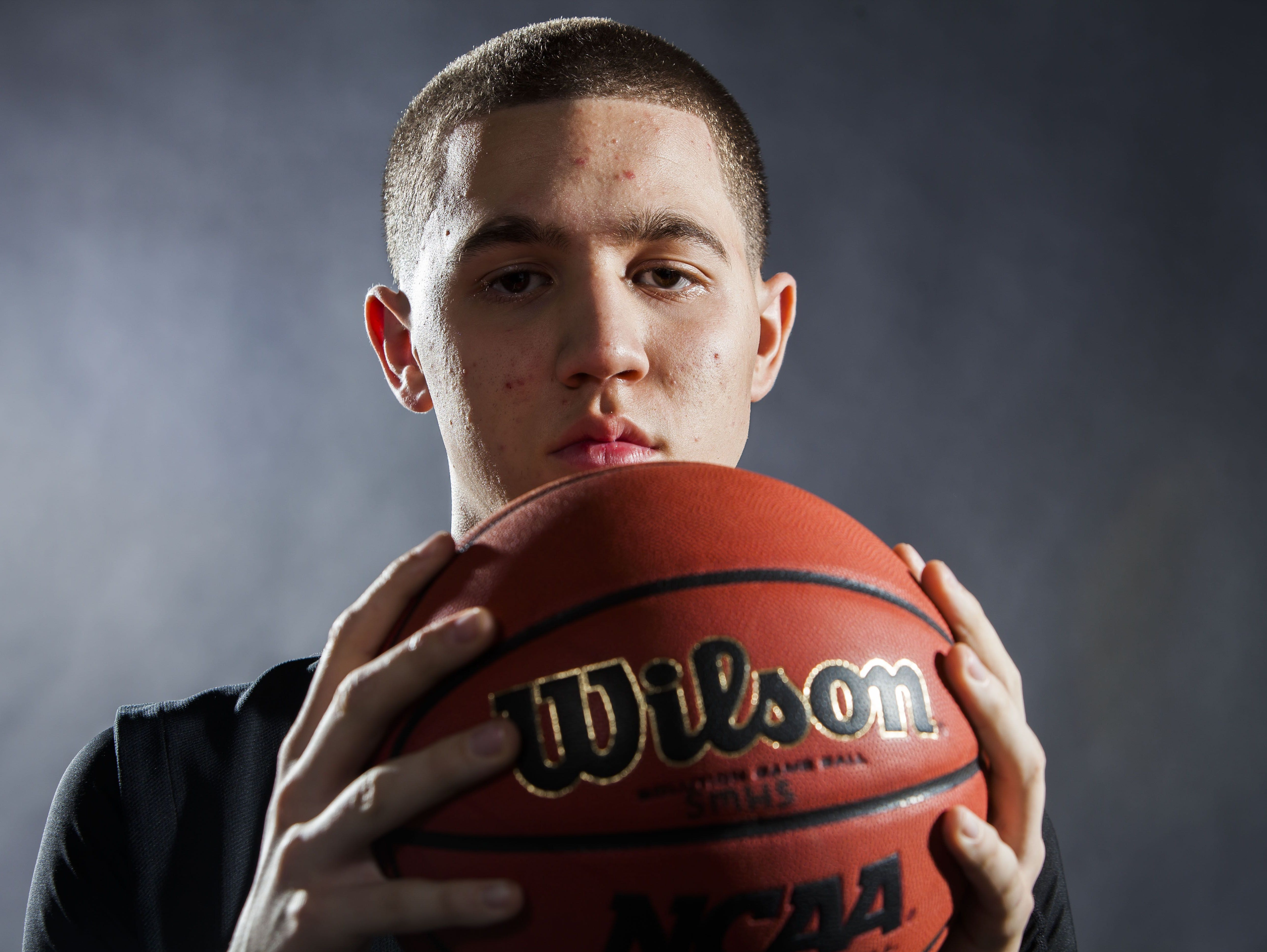 Michael Bibby made our high school boys basketball Division II all-state team.
