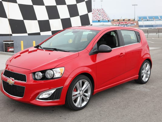 Pocket Rocket Chevrolet Aims To Soup Up Sonic