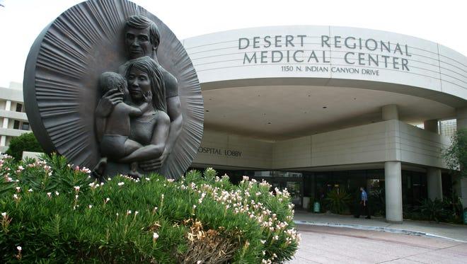 Desert Regional Medical Center in Palm Springs