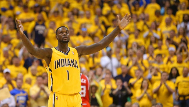 Pacers fans won't see Lance Stephenson in blue and gold next season.