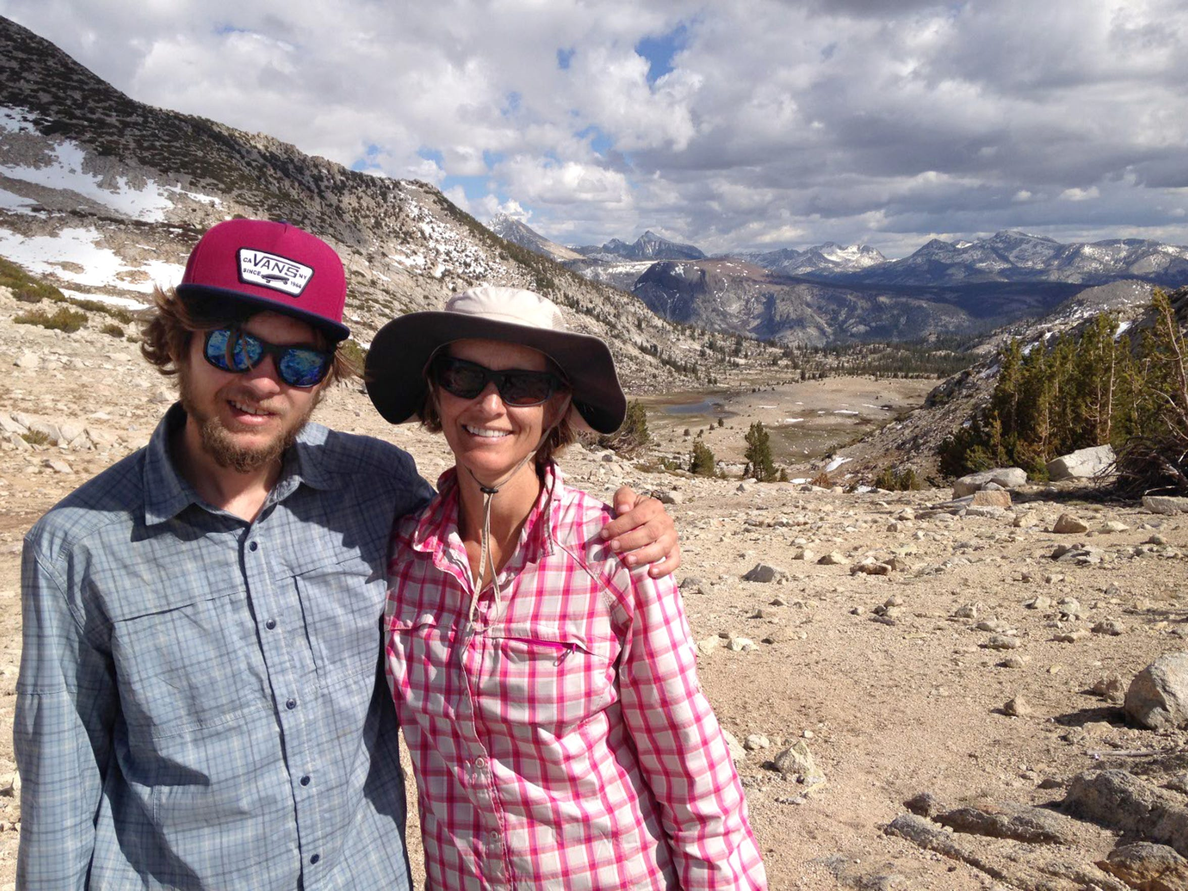 Sam Chappell and his mother Nancy hiked 93 miles this