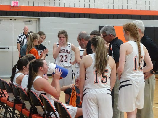 Ridgewood girls basketball