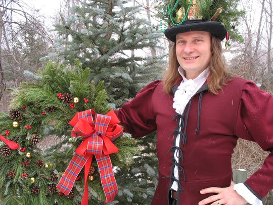 """Story teller Jonathan Kruk will spin Dickensian tales in Historic Hudson Valley's """"A Christmas Carol,"""" staged at The Old Dutch Church in Sleepy Hollow."""