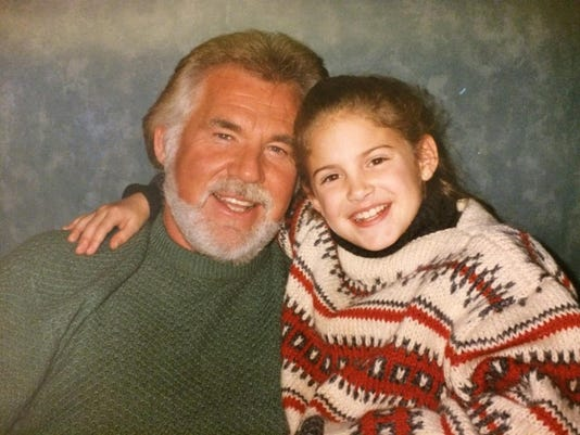 Maggie Dame and Kenny Rogers