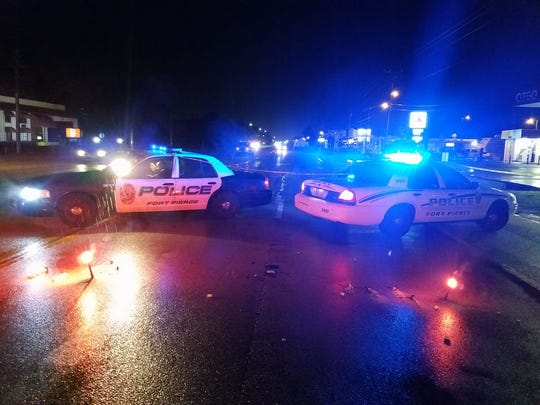A man is dead after a fatal hit-and-run crash Friday June 2, 2017, in the 3200 block of South U.S. 1 in Fort Pierce.