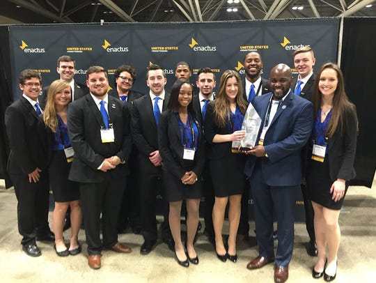 Centenary Enactus Team Finishes in the Top 10% in a