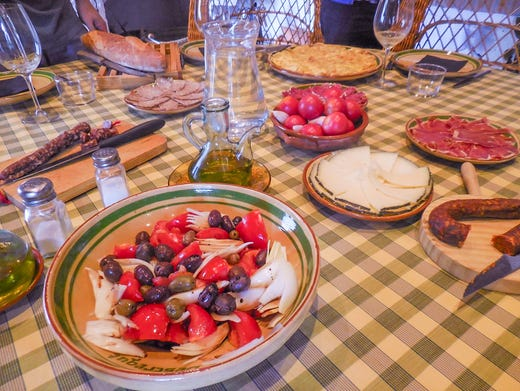 A food and wine trail from Madrid to Barcelona