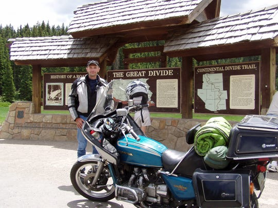 Al Zahrt has ridden the Gold Wing in every one of the lower 48 states.