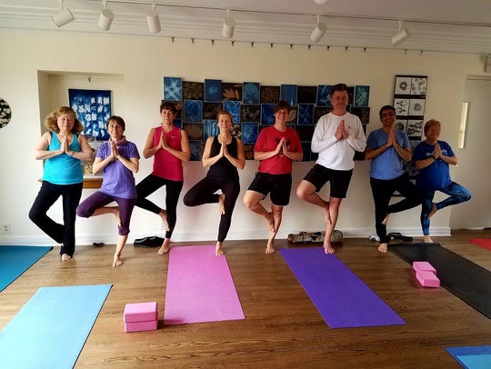 It's a nature-infused yoga class, a one-of-a-kind program