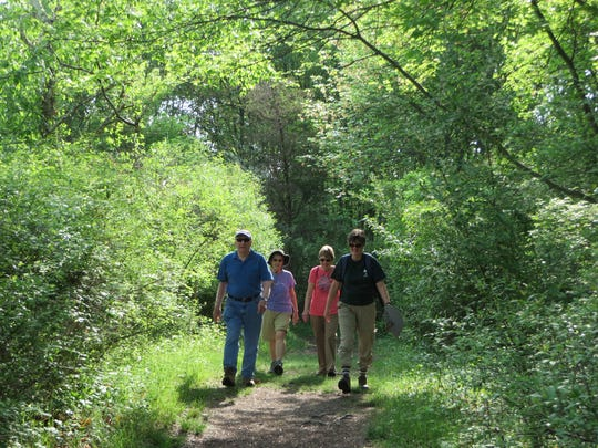 Naturalist-led Forest Fitness Walks take place fall, winter and spring at the Environmental Education Center, 190 Lord Stirling Road, Basking Ridge.