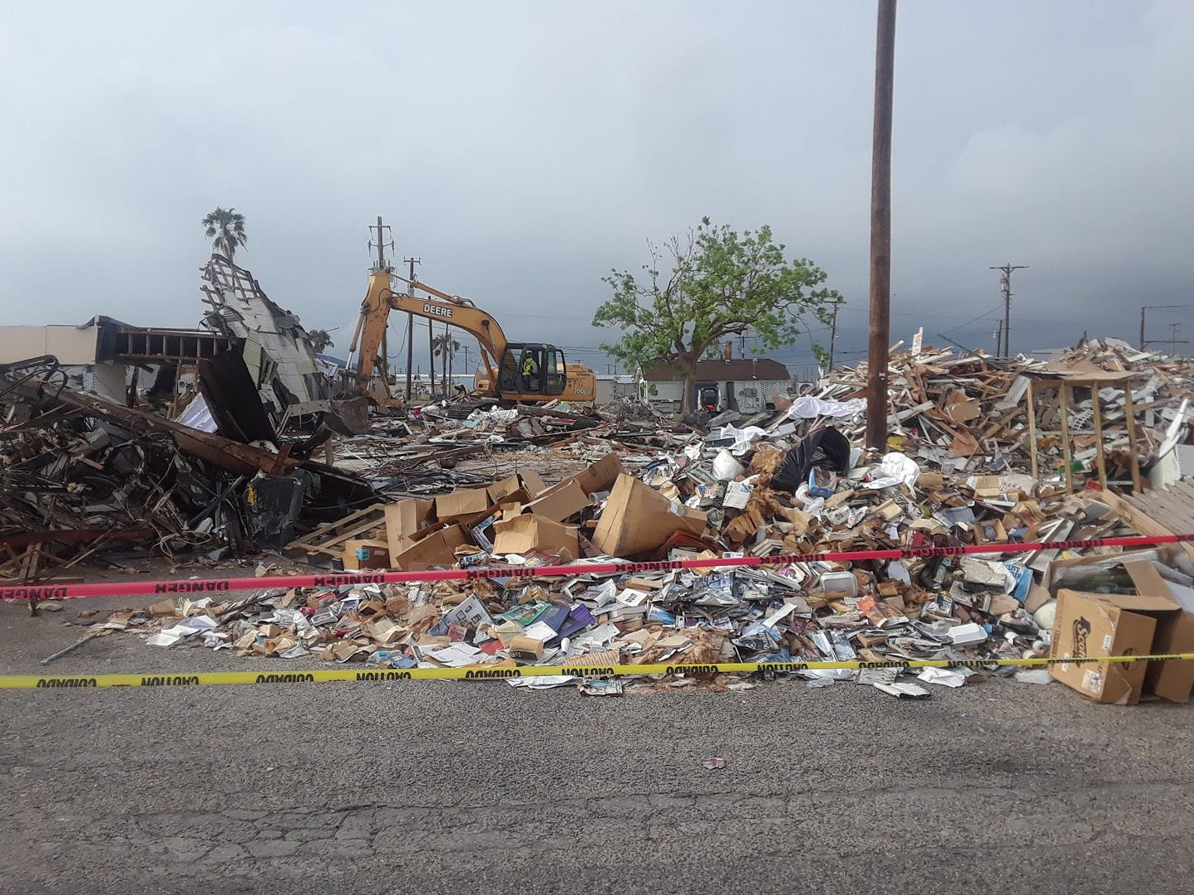 Sam McCrary's Mermaid's Kitchen was demolished after Harvey damaged the building beyond repair.