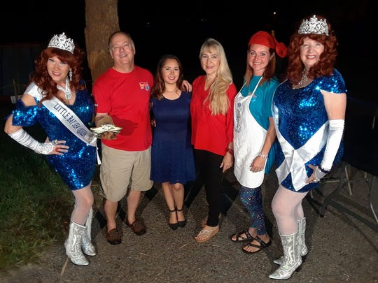 The Little Bay Sea Queens were part of Rockport Relief Camp's Christmas celebration.
