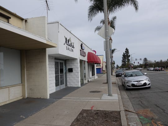 Ventura's Atara Salon on Main Street was hit Saturday night by a 73-year old burglar with a history of prior incidents, according to police, who arrested the suspect.