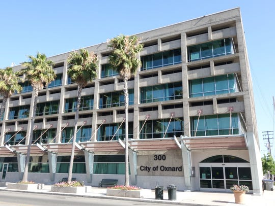Oxnard's City Hall Annex on Third and B streets