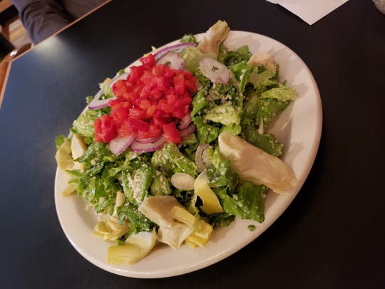 The Very Famous salad from Nearly Famous Deli and Pasta House deserves a shout-out.