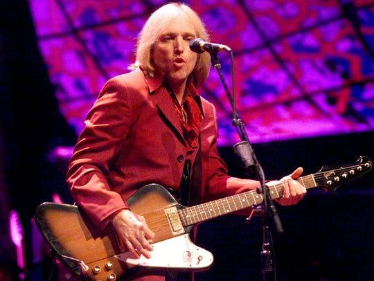 Tom Petty, 1999 in Phoenix.