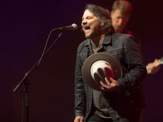 Jeff Tweedy with Wilco, 2015 at Old National Centre.