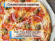 Make your own crazy pizza creation at Blaze Pizza,