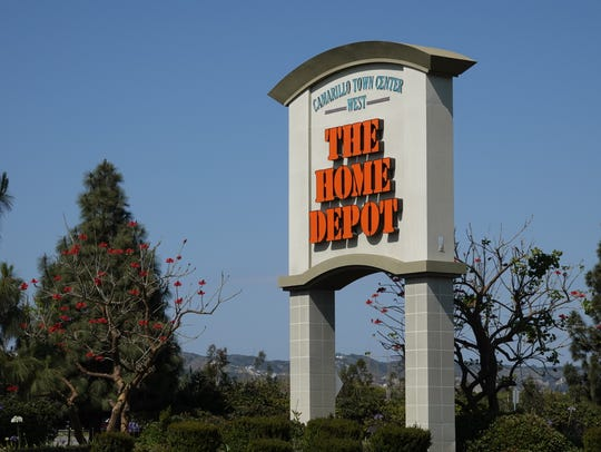 Home Depot sign in Camarillo