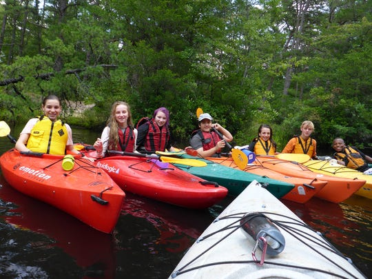 Xtreme Adventurers enjoy a day of kayaking in the Pine Barrens.