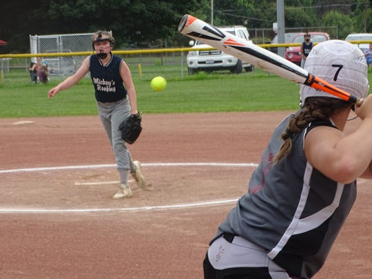 Teams from Granville and Newark plays in the 2018 Central Ohio Girls FastPitch 12U championship. COGFP sill is hoping to begin play this summer, combining its traditional regular and fall seasons.