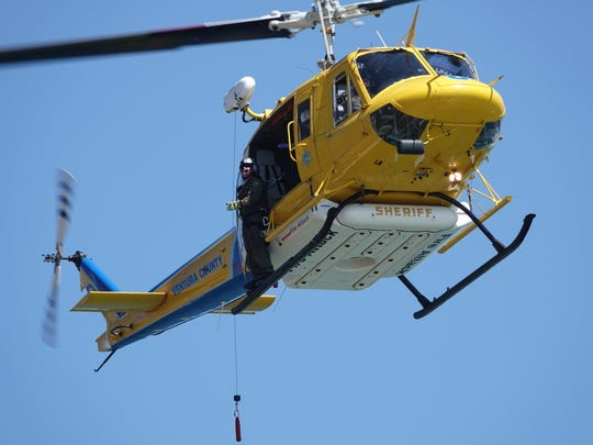 STAR FILE PHOTO A Ventura County Sheriff's Office helicopter unit